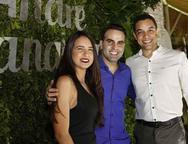 Gabrielle, André Guanabara e Victor Silva