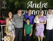 Meire  e Francisco Nemesio, Neire Ramalho, Andr' Guanabara, Alices, Catharine Guanabara e  Nemesio Filho