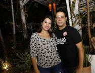 Jackson Santos e  Graciele Ramalho