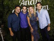 Vinicius Machado, André, Guanabara, Patricia Dias e Bruno Parente