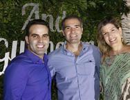 André Guanabara, Eduardo Figueredo e Eliza Telles