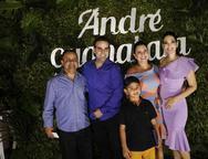Vicente Araujo, André Guanabara, Daniele Cristino, Catharine Ruan e  Ruan Carlos