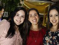 Andressa Melo, Germana Alcantara, e Laura Passos