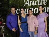 Andr' Guanabara, Giuliana  Botelho, Atilla e Catharine Guanabara