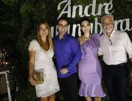 Danelle Holanda, André, Guanabara, Catharine e Eugênio Pontes