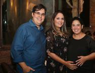 Dirceu Costa,  Anna Gladys Accioly e Ana Paula Montenegro