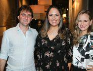 Roberto Costa Lima,  Anna Gladys Accioly e Ana Carolina Costa Lima