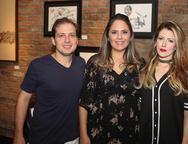 Humberto Cavalcante,  Anna Gladys Accioly e Raquel Macedo