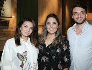 Livia Baral,  Anna Gladys Accioly e Mario Cavaroz