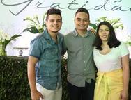David Lima, Felipe Araujo e  Nani Rodrigues