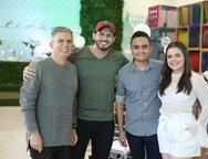 Costa Neto, Samuel Wagner, Felipe Araujo e Clara Ferreira