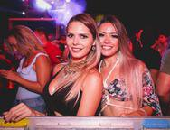 Suamy Goulart e Hyalina Farias