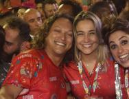 F�bio Lago, Fernanda Gentil e Priscila Montandon