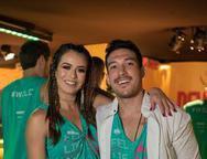 Mari Saad e Guilherme Suetugo