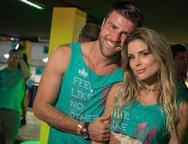 Marcelo Zangrandi e Flavia Viana