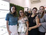 Wladia Borella, Regina Célia, Thaisa Majeri e  Juliana Ibiapina