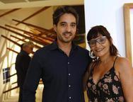 Rodrigo Porto e Adriana Helena