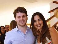 Vitor Perlingeiro e Lara Romcy