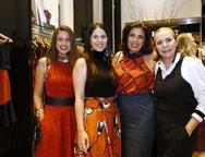 Dani Guesser, Larissa Melo, Maria Luíza Távora e Fernanda Frota