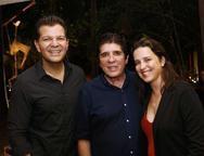 Gustavo Serpa, Dito Machado e Vivian Rocha