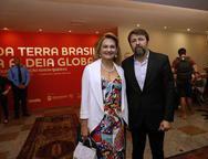 Lenise  Rocha e Elcio Batista