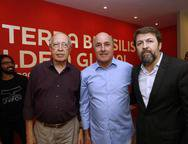 Lúcio Alcântara, Silvio frota e Elcio Batista