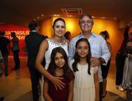 Manoela, Ricardo Sarah e Maria  Bacelar