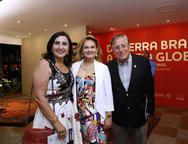 Marlene, Lenise Queiroz e Paulo Mindelo