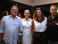 Ricardo, Manoela Bacela, Márcia e Fernando Travessoni