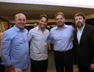 Silvio Frota, Cláudio Rocha, Edson Neto e Elcio Batista