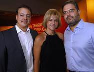 Rodrigo Barroso, Andrea Juaçaba e Edson Neto