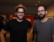 Cadeh Juaçaba e Marcos Ribeiro