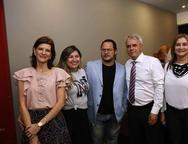 Cristina Brasil, Ana Quesado, Roberto Freire, Marcelo Brasil e e Leonilia Brasileiro