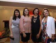 Carolinne Quixadá, Carol Moura, Alessandra e Lenise Queiroz