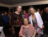 Ane, Suzana Ribeiro e Lenise Rocha