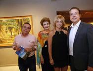 Alessandro, Ana Virginia, Andrea e Rodrigo Barroso