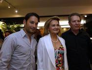 Cláudio Rocha, Lenise Rocha e Silvio Frota