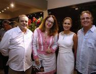 Eduardo Freire, Geovanna Cartaxo, Manoela e Ricardo Bacelar