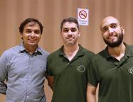 Marcilio Dantas, Tealan Pedroza e Bruno Alves