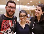 Thales Cantizane, Gil Rangel e Queila Paiva