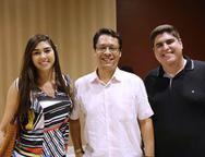 Line Mara, Helton Rolim e Juan Vasquez