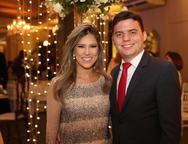 Mayara Feitosa e Pedro Ribeiro