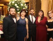 Matheus Godek, Catarina Queiroz, Caliu,  Aline e Mayra Lima