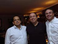 Marcos Lage, Weyber Xavier e  Jorge Brand�o