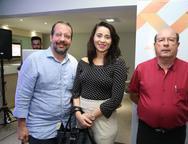 Jean Júnior, Deise Lopes e Jean Frota