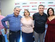 Helder e Luzinete Elfarsio, Ricardo e Luciana Bezerra