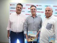 João de Sá, José Carlos Gama e Luciano Cavalcante