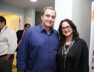 Kalil Otoch e Amanda Nobrega