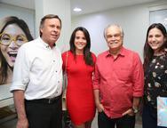José Simões, Carolina Barbosa, Ricardo Miranda e Sarah Aguiar