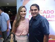 Patrícia Alencar e Antônio Carlos Holanda